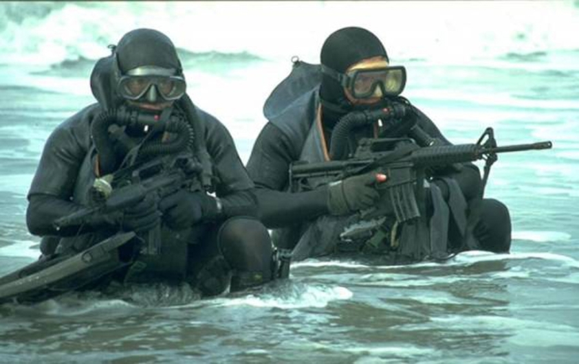 Greek Navy Seals, simply on the alert, always