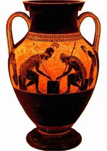 Greek Amphora , a DNA  pool for the goods of Ancient Greek Trade