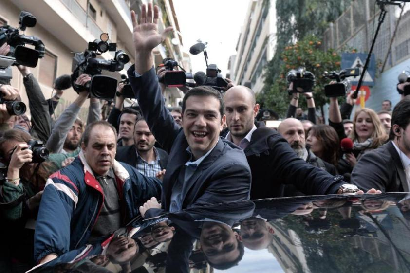Probably Empathetic Alexis Tsipras won the Greek Heart