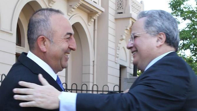 Foreign Minister Nikos Kotzias' statements following his meeting with Turkish Foreign Minister Mevlüt Çavuşoğlu (Ankara, 12 May 2015) - Top Story