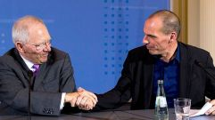Varoufakis and Schaeuble set common ground (VIDEO) ~ HellasFrappe