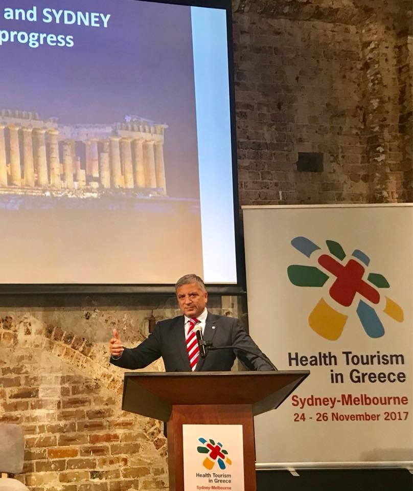 #Greece's Medical Tourism opportunity embrassed by enthousiasm in #Australia