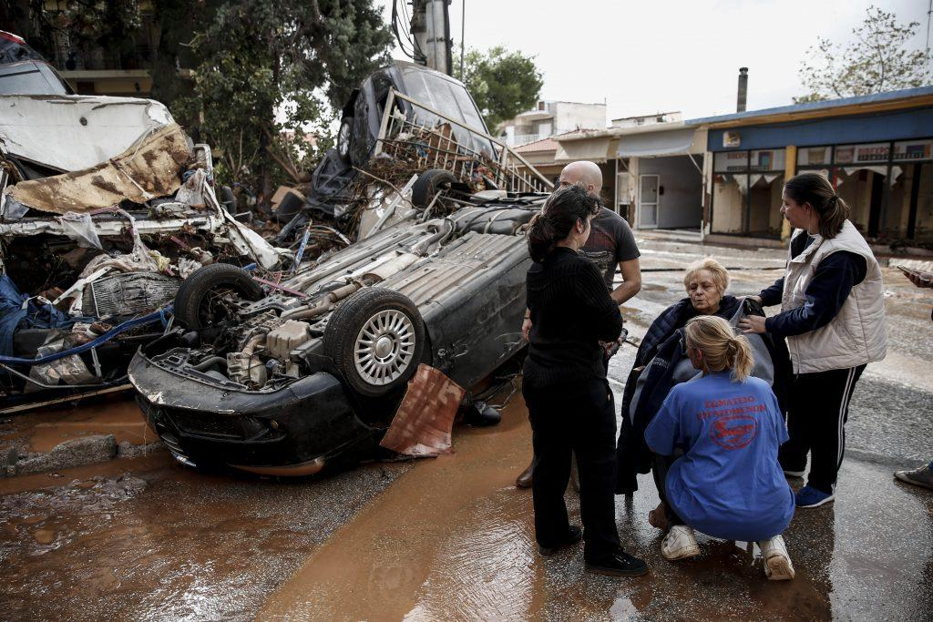 A biblical #FlashFlood in #Greece with No #Survival Guidelines released 24h after at all